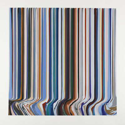 Ian Davenport, 'Winter', 2019