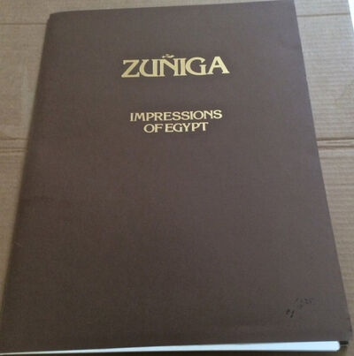 Francisco Zúñiga, 'Impressions of Egypt - complete portfolio of ten works', 1982