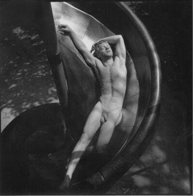 Arthur Tress, 'Kent in Slide', 1979