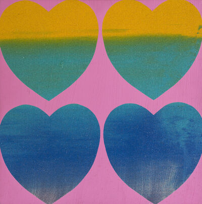 Andy Warhol, 'Hearts (Four)', 1983