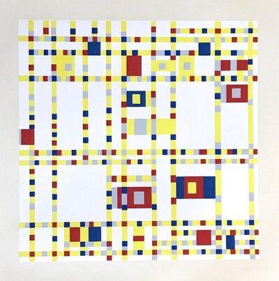 Piet Mondrian, 'Broadway Boogie-Woogie', 1957
