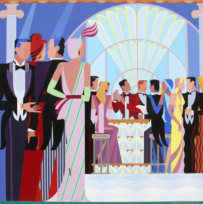 Giancarlo Impiglia, 'At the Bar', 1987
