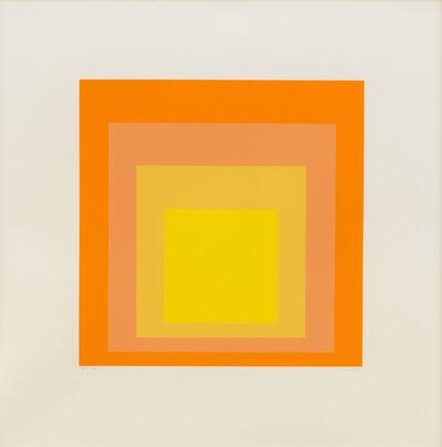 Josef Albers, 'EK Ih', 1970