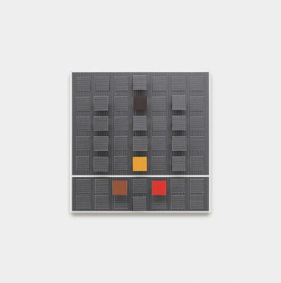Jesús Rafael Soto, 'Quatre carrés de couleurs', 1993