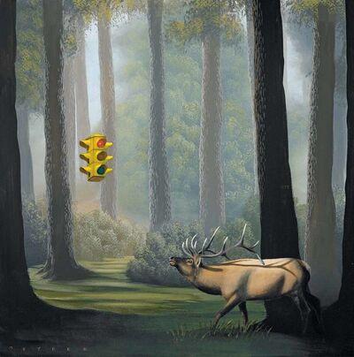 Robert Deyber, 'The Buck Stops Here (Traffic Light)', 2010