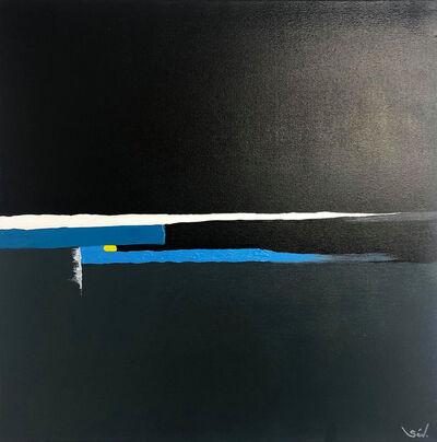 Sév., 'Infini Dark Blue', 2017