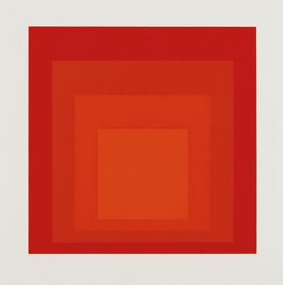 Josef Albers, 'I-S a', 1968
