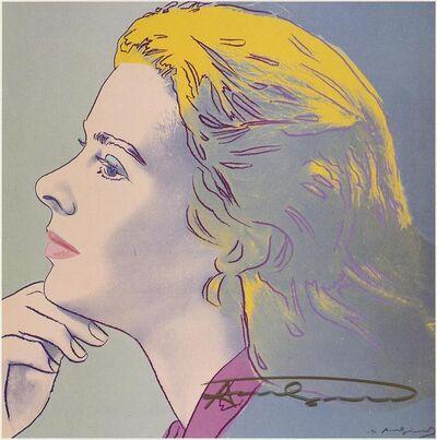 Andy Warhol, 'Ingrid Bergman ', 1983