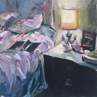 Ekaterina Popova, 'Reading in Bed', 2020