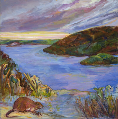 Diana Kurz, 'Hudson River with Muskrat', 2009