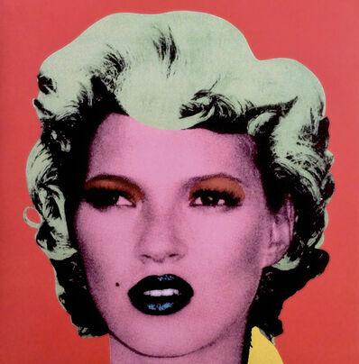 Banksy, 'Kate Moss - Dirty Funker Vinyl (Red)', 2008