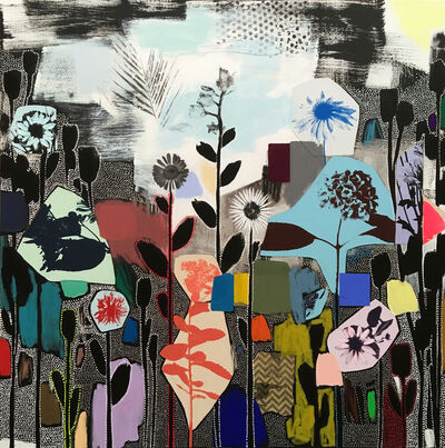 Emily Filler, 'Dreamscape (rainbow+wildflowers) I', 2019