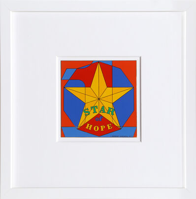 Robert Indiana, 'Star of Hope', 1972