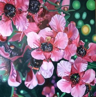 Allan Batt, 'Manuka Flowers', 2019
