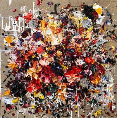 Ismael Lagares, 'Ocher Red', 2018