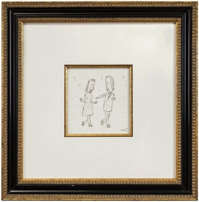 William Anthony, 'Dance With Me, Caricature Drawing', 1988