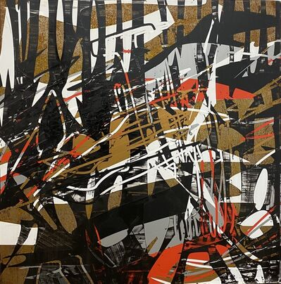 Alejandro Contreras, 'Rusted Red, White and Black series 1', 2019
