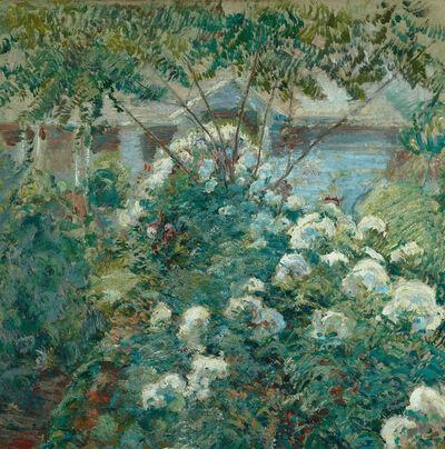 John Henry Twachtman, 'Greenwich Gardens', ca. 1890