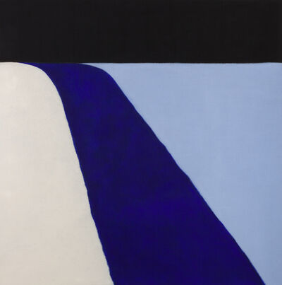 Susan Vecsey, 'Untitled (Black/Blue)', 2015