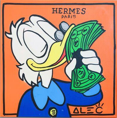 Alec Monopoly, 'Hermes Scrooge Portrait ', 2019