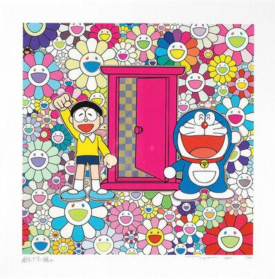 Takashi Murakami, 'We Came to the Field of Flowers Through the Anywhere Door', 2019