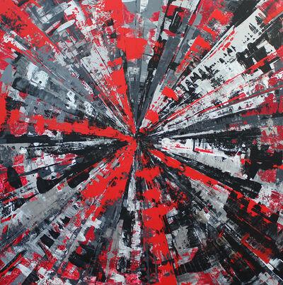 Karin Döring, 'Circle of Life - my red life', 2019