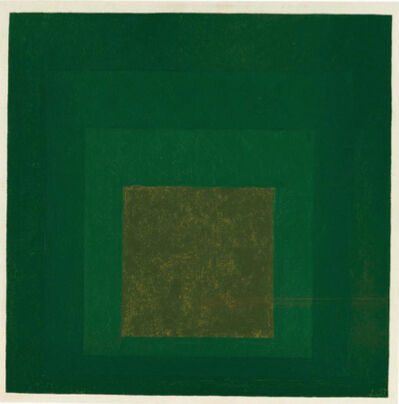 Josef Albers, 'Homage to the Square', 1967