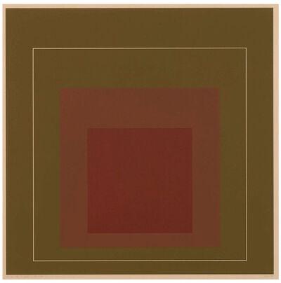 Josef Albers, 'WLS IV.  White Line Squares (Series I)', 1966