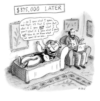 Roz Chast, '$875,000 Later', 2012