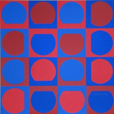 Victor Vasarely, 'Composition', 1964