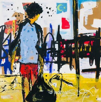 Yagor, 'Pas en arrière ', 2018
