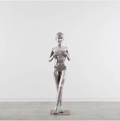 """Yves Scherer, '""""Emma (Stainless Steel)""""', 2018"""
