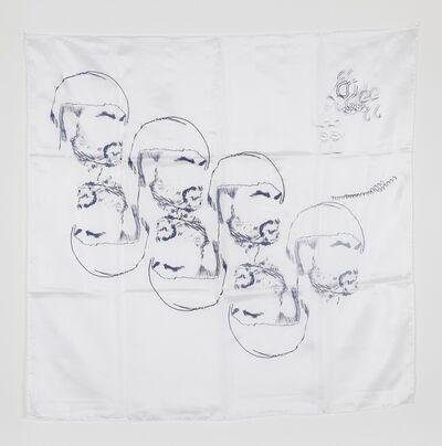 Anna K.E. & Florian Meisenberg, 'Late Checkout (scarf)', 2015