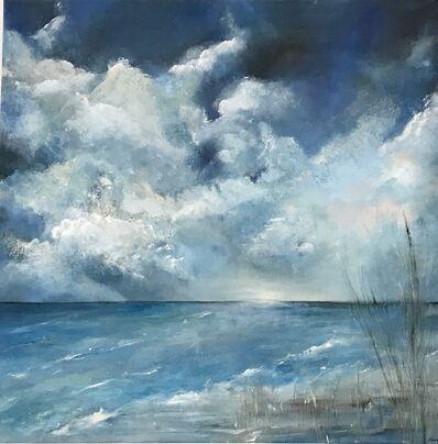 Claudia Kupferschmid-Gubser, 'Durch Wolken scheint Himmlisches', 2019