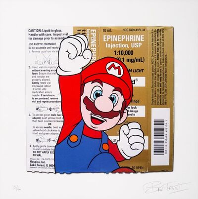 Ben Frost, 'Super Mario', 2017