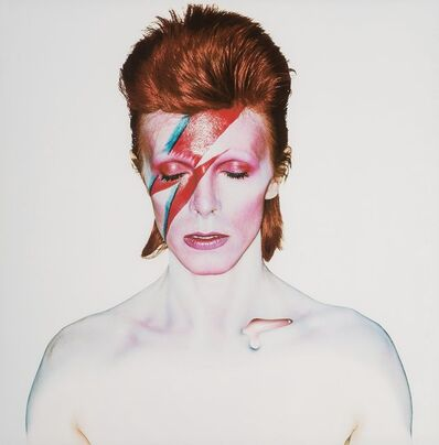 Brian Duffy, 'David Bowie, Aladdin Sane (Closed Eyes)', 1973