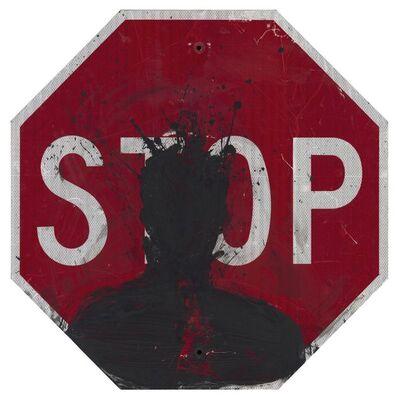 Richard Hambleton, 'Stop Sign', 2019