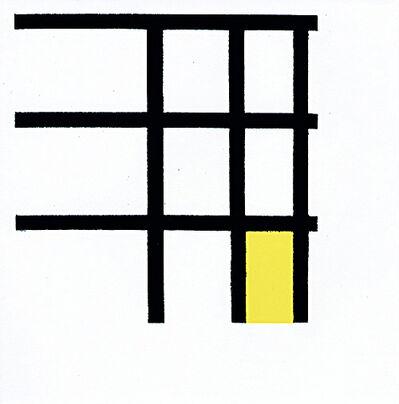 Tom Marioni, 'Mondrian', 2002