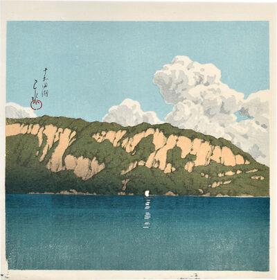 Kawase Hasui, 'Twelve Famous Sceneries: Lake Towada', ca. 1988