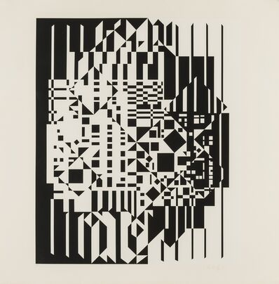 Victor Vasarely, 'Syrom', 1959