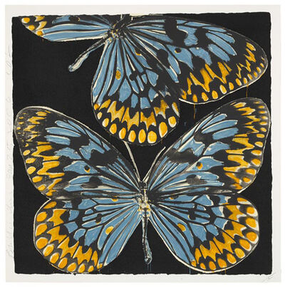 Donald Sultan, 'Butterflies, Jan 25th, 2006', 2006