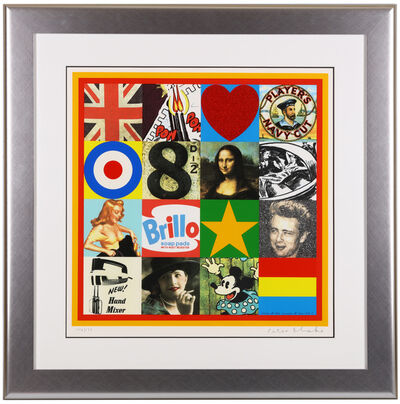 Peter Blake, 'Some of the sources of Pop Art V'