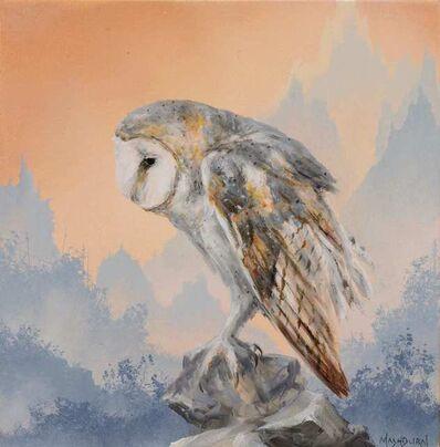 Brian Mashburn, 'Barn Owl Study', 2021