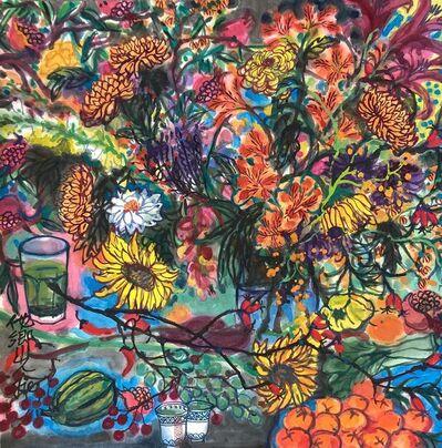 Qiu Jie, 'Fleur d'automne 10', 2020