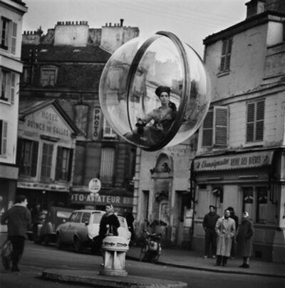 Melvin Sokolsky, 'Time Stop Street, Paris', 1963