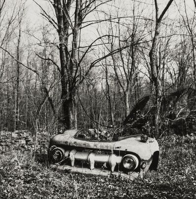 Walker Evans, 'Untitled, (Abandoned Truck Parts)', 1973