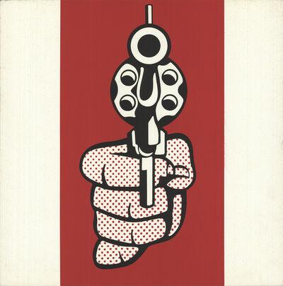 Roy Lichtenstein, 'Pistol, from Banner, Multiples Calendar for 1969', 1968