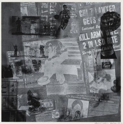 Robert Rauschenberg, 'Surface Series from Currents', 1970