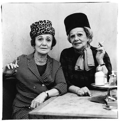 Diane Arbus, 'Two Ladies at the Automat, NYC', 1966
