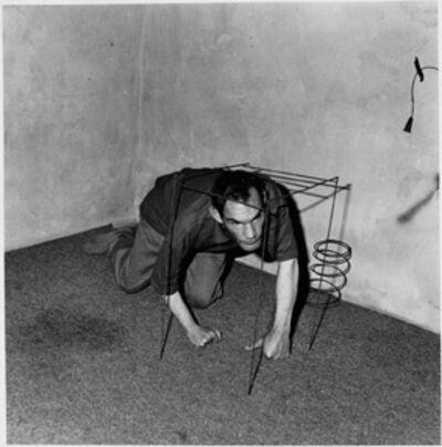 Roger Ballen, 'Crawling man', 2002